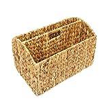 Woodluv Water Hyacinth Periódico Revista Soporte de almacenamiento (Hecho de...
