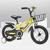 Bicicleta para niños, niños, niñas, bicicleta de estilo libre, 12 14, 16 pulgadas con ruedas de entrenamiento, 12 pulgadas con pata de cabra, bicicleta para niños, azul, rojo, naranja, verde, rosa,
