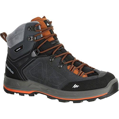 Quechua Men's Multicolour Faux Leather Forclaz 500 High Boots (44 EU)