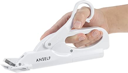 Anself Multipurpose Battery-Operated Handheld Electric Scissors