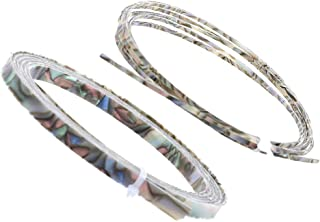 Baosity Binding Inlay Strips for Guitar Mandolin Uke Luthier Supply Width 2/6mm