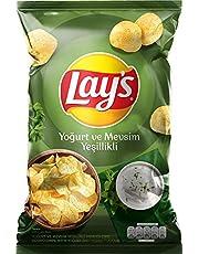 Lay's Yoğurt Mevsim Yeşillikleri Süper Boy Patates Cipsi