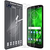 3 PACK LK Screen Protector Compatible with Motorola Moto G6,Japan Tempered Glass, 9H Hardnes, HD Transparent, Case Friendly