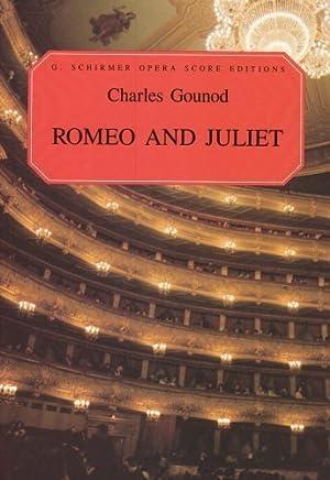 Romeo And Juliet (Opera Score, French and English) (Vocal Score, French and English) by T Baker(1986-11-01)
