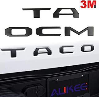 Best 2018 tacoma tailgate letters Reviews