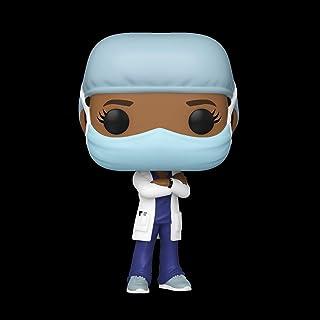 Funko Pop! Héroes: Trabajadora de línea frontal- Trabajadora de hospital femenina #2