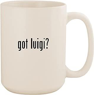 got luigi? - White 15oz Ceramic Coffee Mug Cup