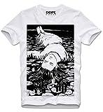 DOPEHOUSE T-Shirt Tomie Junji Ito Uzumaki Manga Anime Guro Japan Japanese Suehiro Maruo M White