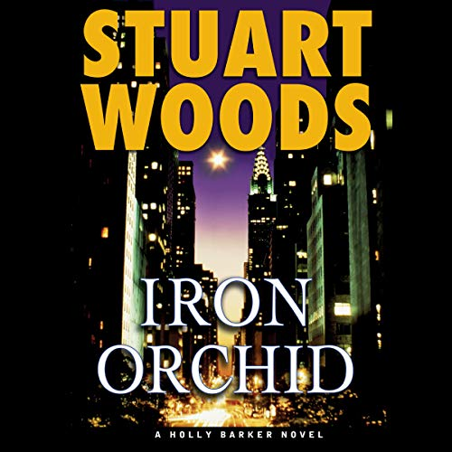Iron Orchid audiobook cover art