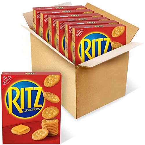 6 Boxes of RITZ Original Crackers, 10.3 oz Boxes Now $7.12