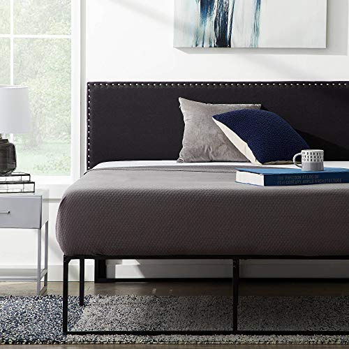 Lucid Upholstered Mid-Rise Headboard w/ Nailhead Trim, Queen - $66.30 Each