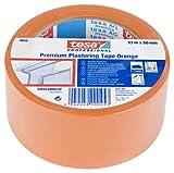 Tesa 04843-00000-16 04843-00000-16-Cinta de revoco Premium serie 4843-33m x 50mm Naranja, aplica