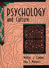 By Walter J. Lonner Psychology and Culture (1st Edition)