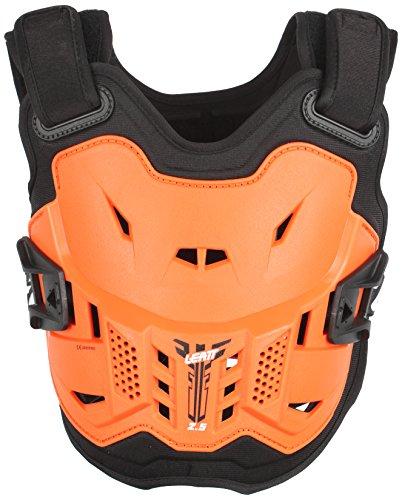 Leatt 2.5 Protection Thoracique pour Moto, Unisexe – Adulte Taille Unique Orange/Black