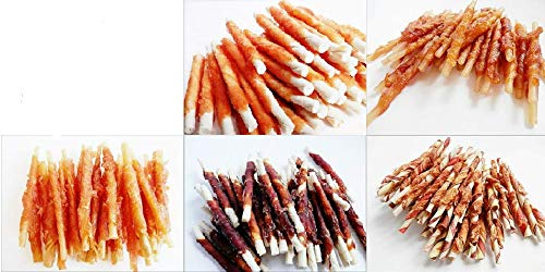 MIX - VARIETY of BESTSELLING Meaty Sticks - Crunchy Chews, Treats, Snacks