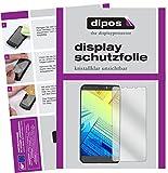 dipos I 2X Schutzfolie klar kompatibel mit Alcatel A7 XL Folie Bildschirmschutzfolie
