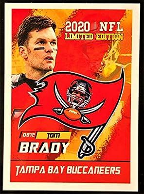"2020 TOM BRADY - First Tampa Bay Buccaneers Football Card - Custom Made""Rookie Gems"" Novelty Football Card"