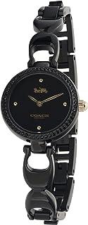 Coach Womens Quartz Wrist Watch, Black Stainless Steel - 14503564