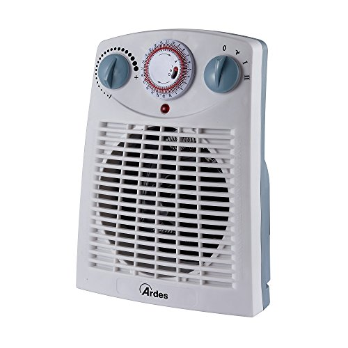 Ardes AR449TI Termoventilatore TEPO TIME con Timer 24 h 2 Potenze con Termostato E Led On/Off