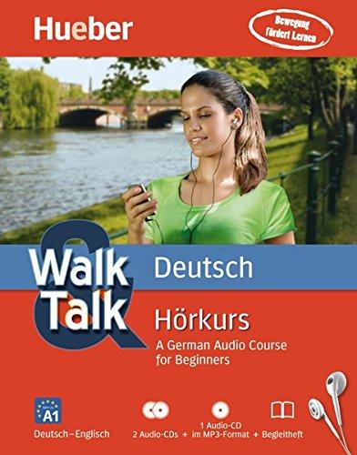 Walk & Talk Deutsch Hörkurs: Deutsch - Englisch / 2 Audio-CDs + 1 MP3-CD + Begleitheft (AUTO)