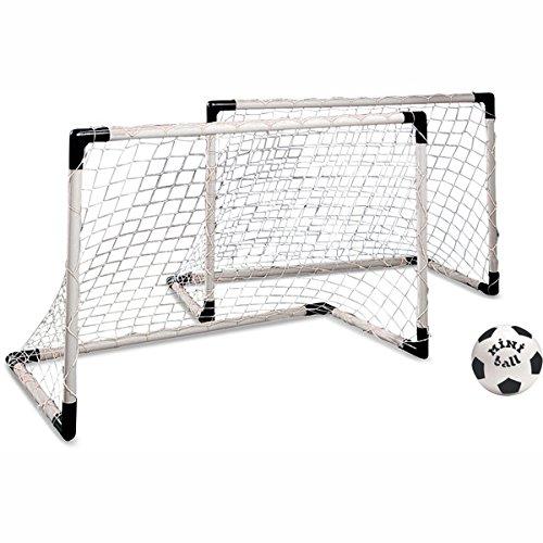 Fußball-Tore MONDO Mini 2er-Set mit Ball