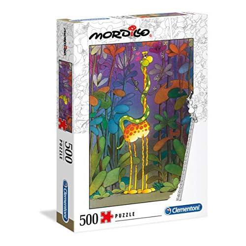 Clementoni - 35079 - Mordillo Puzzle - The Lover - 500 Pezzi - Made In Italy - Puzzle Adulti