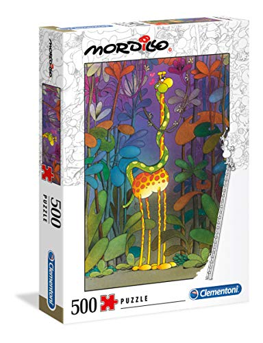 Clementoni - 35079 - Mordillo Puzzle - The Lover - 500 Pezzi - Made In Italy - Puzzle Adulti