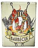 LEotiE SINCE 2004 Cartel Letrero de Chapa XXL Cocina Barbacoa