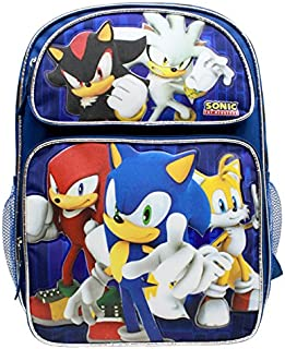 Sonic the Hedgehog Large 16 Inches Backpack #SH28752
