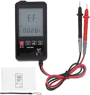 Digital Multimeter, 3,2 Zoll Touching Smart Mini Voltmeter Ohmmeter Berührungsloses Spannungserkennungsmessgerät für DC Wechselspannungswiderstand Diodenkapazität TRMS 6000 Zählt