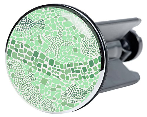 Waschbeckenstöpsel Mosaic World Green, viele schöne Waschbeckenstöpsel zur Auswahl, hochwertige Qualität ✶✶✶✶✶
