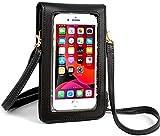 2020 actualizado ligero Crossbody pequeño teléfono monedero de pantalla táctil bolso de hombro