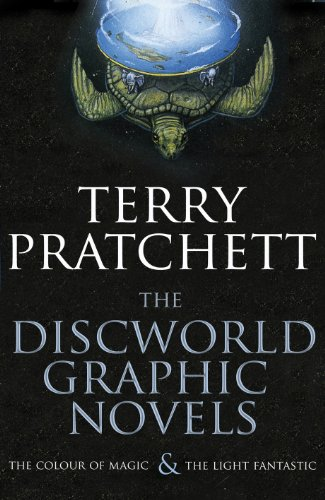 "The Discworld Graphic Novels: The Colour of Magic and The Light Fantastic: 25th Anniversary Edition: ""The Colour of Magic\"", \""The Light Fantastic\"""