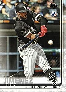 2019 Topps Baseball #670 Eloy Jimenez Rookie Card - Factory Set Photo Variation