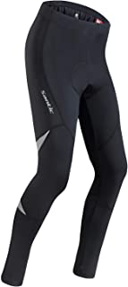 Santic Bike Pants Mens Cycling Tights 4D Padded Long Bicycle Compression Leggings Breathable Trousers