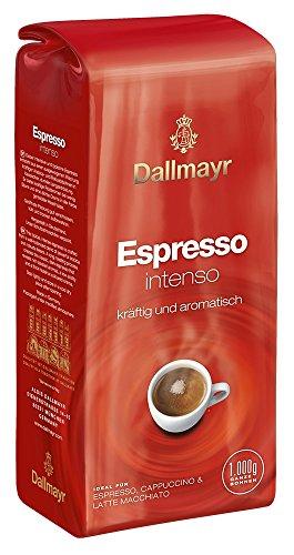 Dallmayr Kaffee Espresso Intenso Kaffeebohnen, 1er Pack (1 x 1 kg)