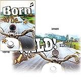 Geburtstagskarte mit Musik, Din A5 - Born to be Wild
