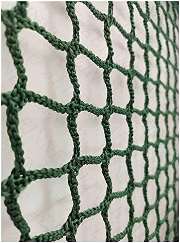 Material de malla de golf, red de repuesto para bateo de béisbol, deportes, barrera, hockey, malla de fútbol, malla de protección para vallas, baloncesto (color de 3 a 3 mm, tamaño: 1 x 6 m)