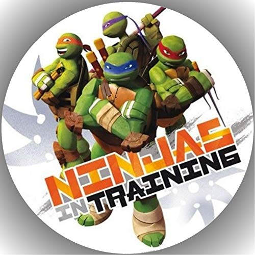 Fondant Tortenaufleger Tortenbild Geburtstag Turtles T9