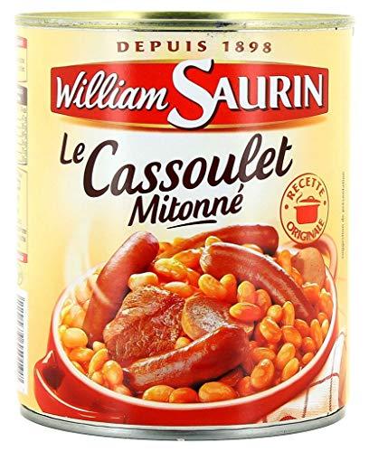 William Saurin Le Cassoulet Mitonné 420g (lot de 6)