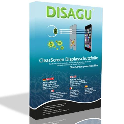 DISAGU 4x ClearScreen–Protector de Pantalla para Sony Ericsson Z610i Antibacteriano, Filtro de...