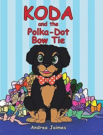 Koda and the Polka-Dot Bow Tie