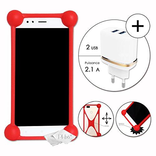 PH26 Alcatel One Touch Go Play Cover Bumper Antiurto in Silicone di qualità