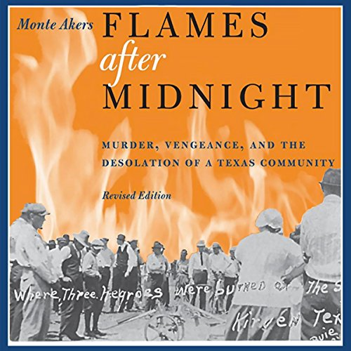 Flames after Midnight audiobook cover art