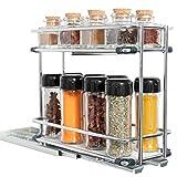 Cubi Spice - Especiero de Cocina Extraible para Armario - Organizador de...