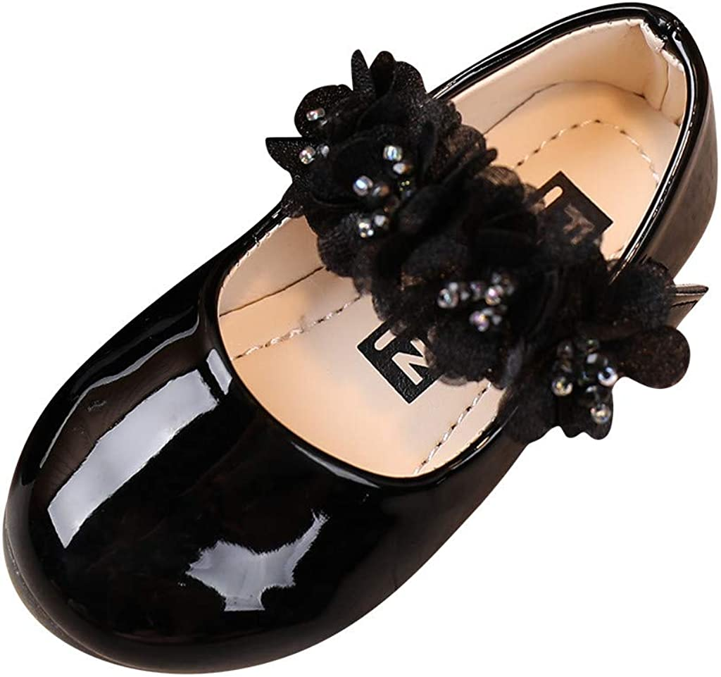 Girls Toddler 2021new At the price shipping free Little Kid Dress Mary Jane Ballet Flats Ballerina