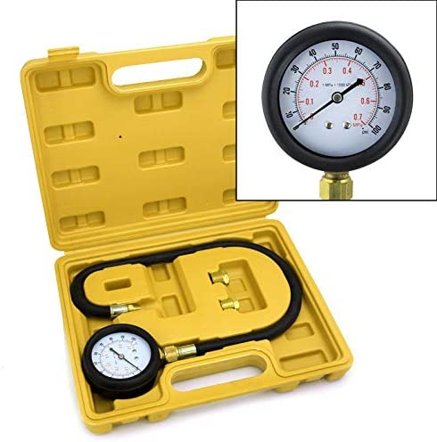 XtremepowerUS Oil Pressure Tester Gauge Engine Diagnostic Test Kit product image