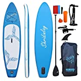 Best Paddleboards - Shridinlay Inflatable Stand Up Paddle Board Kit, 15cm Review