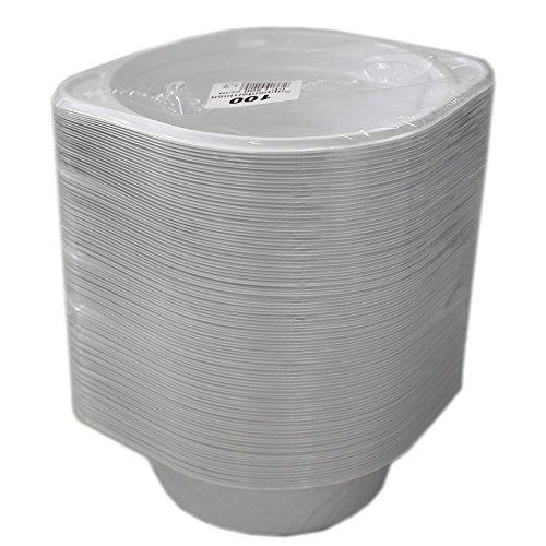 Gude 233048 Suppenterrine Behälter Rund mit Anfasser für 500ml (100 Stck)