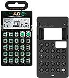 Teenage Engineering PO-12 Pocket Operator Rhythm Portable Synthesizer Bundle with CA-X Silicone Protective Case